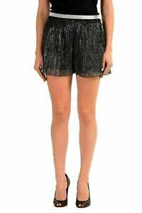 Just-Cavalli-Multi-Color-Elastic-Waist-Women-039-s-Casual-Shorts-US-s-IT-40
