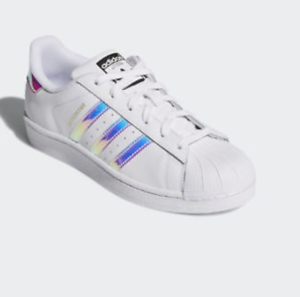 adidas superstar holographic stripes ebay