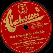 TANZSPORT-ORCH. ZEUNER-FREUDENBERG  Wenn der weisse Flieder../ 4 Worte...  S7167
