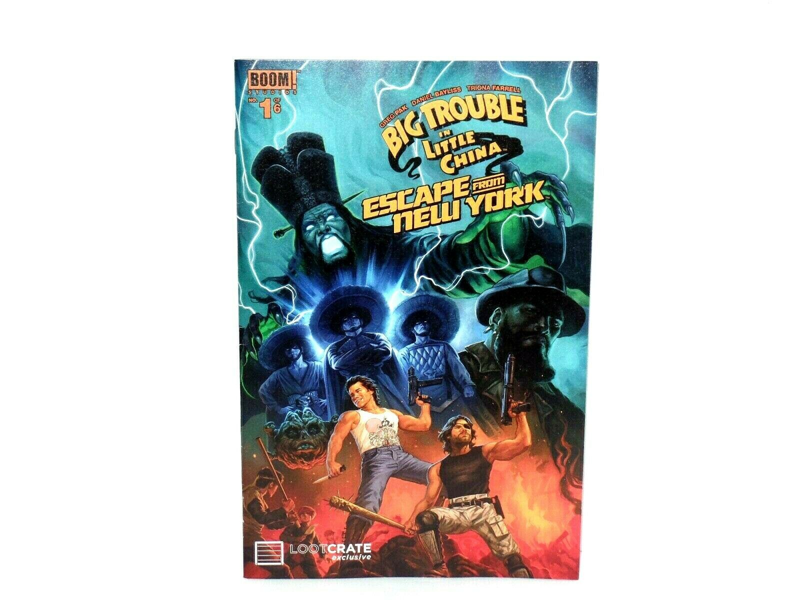 Big Trouble In Little China Escape From Ny Comic For Sale Online