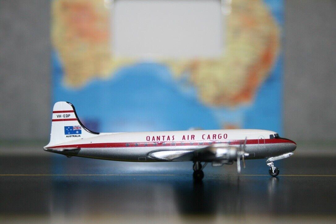 Aeroclassics 1 400 Qantas aérea de carga Douglas DC-4 VH-EDP (acvhedp) modelo de avión