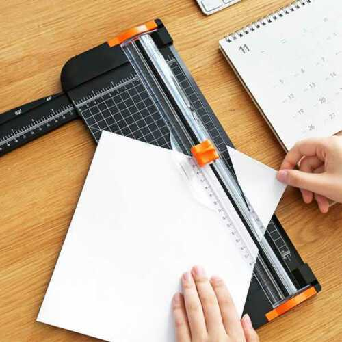 Heavy Duty A4 Photo Paper Cutter Guillotine Card Trimmer Ruler Home Office Tool
