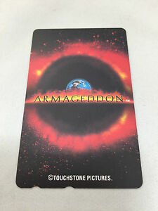 ARMAGEDDON-Movie-Memorabilia-Japanese-Special-Rare-Telephone-Card-Bruce-Willis