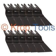 10 Multi Tool Blades Black & Decker DeWalt 65mm Standard Wood by KROP