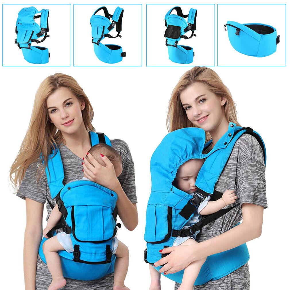 QUALITY Multipurpose Baby Carrier Backpack Adjustable Buckle Mesh Wrap Holder