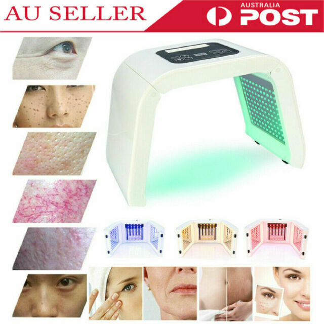 4 Color LED Light PDT Therapy Skin Rejuvenation Anti-aging Facial Beauty Machine