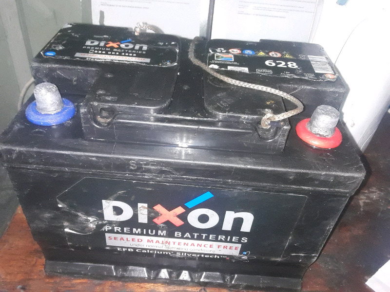 Dixion car battery size 628 for sale