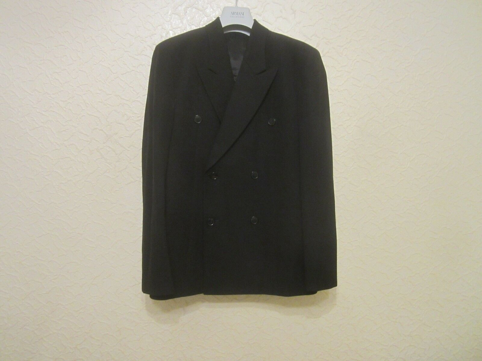 Paul Smith Double-Breasted Wool-Cotton-Blend Blazer
