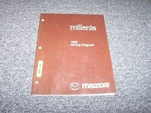 image is loading 1999-mazda-millenia-sedan-electrical-wiring-diagram-manual-
