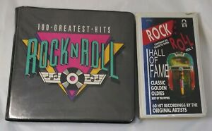 Rock-N-Roll-Hall-Of-Fame-100-Greatest-Hits-Classic-Golden-Oldies-Cassettes