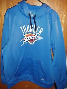 quality design 37740 2a9b8 Details about Brand New Authentic Oklahoma City Thunder Hoodie Sweater Size  Men's L FREE SHIPP