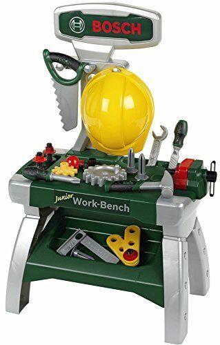 Theo klein Bosch Werkbank Junior mit Zubehör 71x49cm 8612 ...