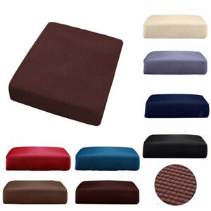 Details about Replacement Sofa Seat Covers Fabric Stretchy Protector Cushion Cover Couch Slip