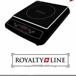 Piastra ad Induzione 2000 W da 80 A 270 C° Piano Cottura Elettrico RoyaltyLyne