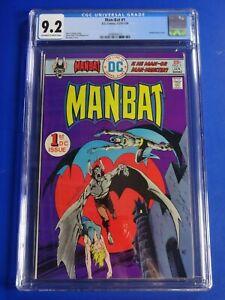 CGC-Comic-graded-9-2-Man-Bat-DC-1-1st-print-Key-issue-HOT