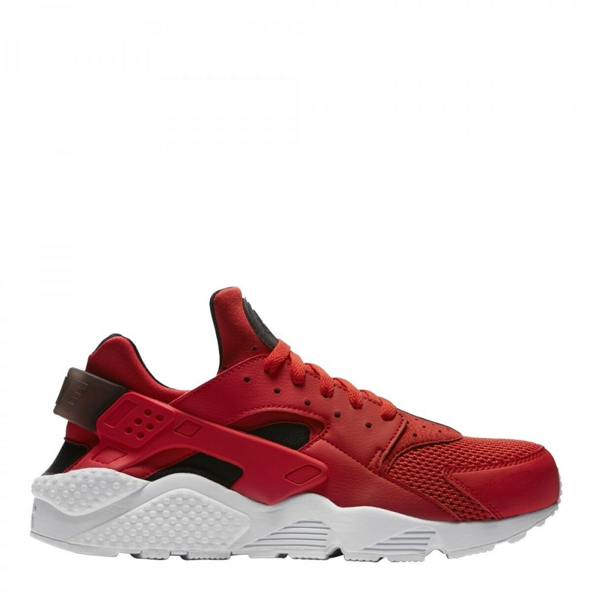 Nike Air Huarache Habablack Red Black and White 318429 609 Mens and Kids Size