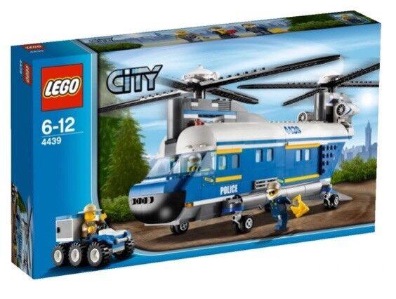 Lego City  4439 - Hélicoptère de Transport Police neuf  approvisionnement direct des fabricants