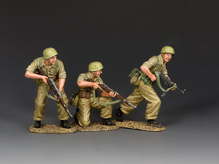 King and country  ataque   (conjunto de figuras 3x) AK119