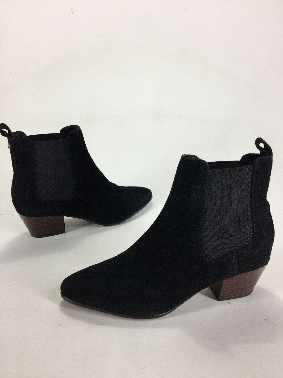 Mujeres Sam Edelman Reese botas botas botas al tobillo Botines Gamuza Negra Talla 6  tienda en linea