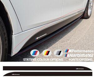 For-BMW-3-M-PERFORMANCE-Side-Skirt-VINYL-STICKER-F30-F31