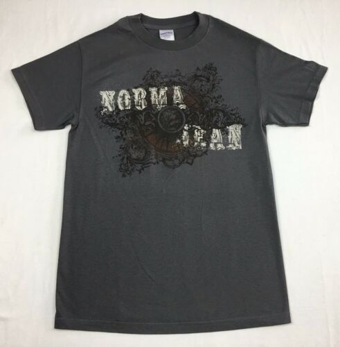 """Norma Jean /""""American Metalcore/"""" T-shirt Official Adult Mens Gray New S,M"""