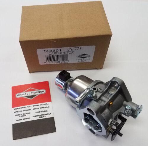 Genuine Briggs /& Stratton 594601 591736 Carburetor OEM Carb