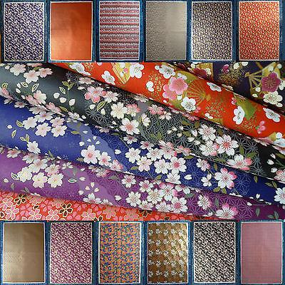 You select! Japanese Yuzen Chiyogami Washi origami paper 15cm X 15cm
