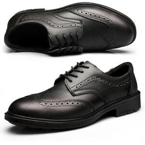 Mens Dress Formal Safety Work Shoes
