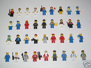 Lego-Minifigure-Figurine-Personnage-City-Ville-Anciennes-Series-Choose-Minifig
