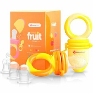 NatureBond NB002B Baby Food and Fruit Feeder Pacifier - Set 2