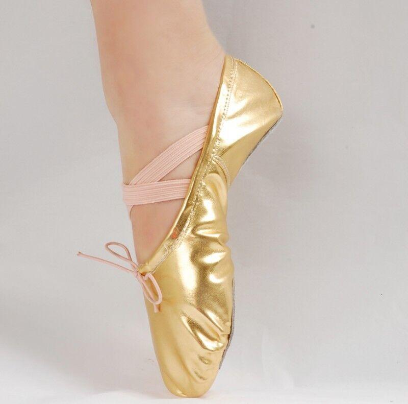 2018 Womens Flat Heel Dance Shoes Bling New Fashion Adult Children's Soft Bottom