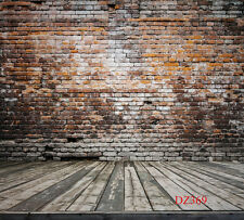 Vinyl Backdrop Photography Prop Retro Brick Wall Photo Background 10x10FT DZ369