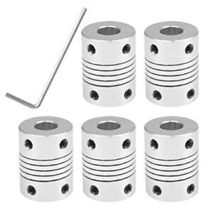 5PCS-Flexible-Couplings-Shaft-Coupler-Creality-3D-Printer-CNC-Machine-5mm-To-8mm