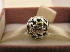 Sterling Silver and Gold Plate Family Forever Charm with Pandora Box Option