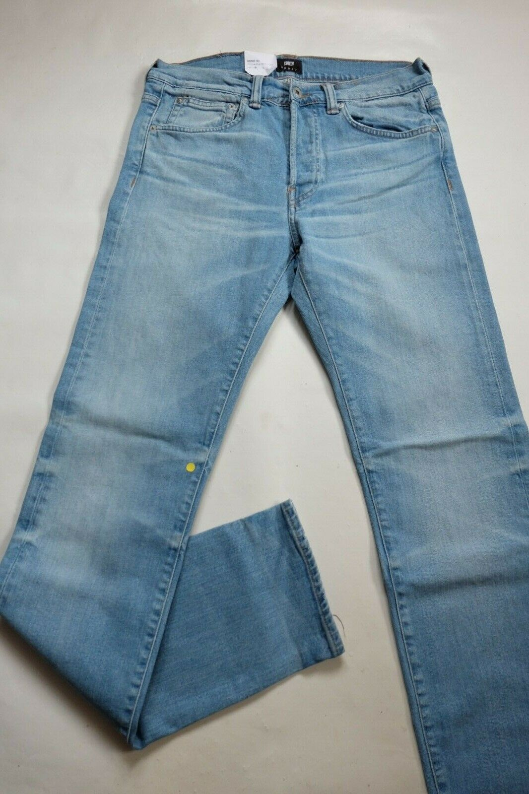 Vaqueros Edwin Hombre Ed 80 Pitillo Tapered ( Cs Power blue Luster