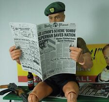 1/6 Scale Newspaper - Daily Planet for Superman Clark Kent Lois Lane and friends