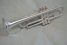 1996 GETZEN ETERNA 700S SEMI-PRO Bb TRUMPET ~ CUSTOM BRUSHED FINISH ~ NEAR MINT