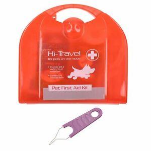 En Herbe Dog Pet Travel 24pc First Aid & Tick Remover Tool Kit Pour Holiday's & Road Trips-afficher Le Titre D'origine RafraîChissement
