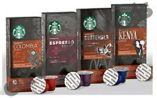 Starbucks Nespresso Espresso Selection Coffee Set 4 Flavour Variety Pack 40 Pods
