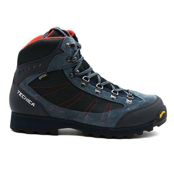 Trekking Stiefel man technical Makalu IV GTX MS Denim rot Stiefel Gore Tex