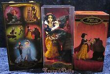 Disney Designer Fairytale Dolls Heros &Villains Snow White&Witch Limited Edition