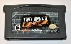 TONY HAWK'S UNDERGROUND NINTENDO GAMEBOY ADVANCE SP GBA