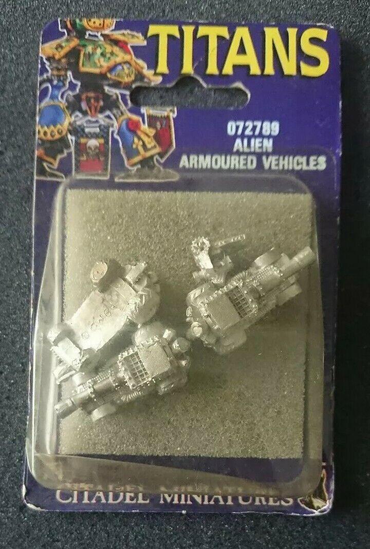 Citadel WH40k Epic Titanes Alien vehículos blindados  Ork bazo rippas Nuevo Y En Caja