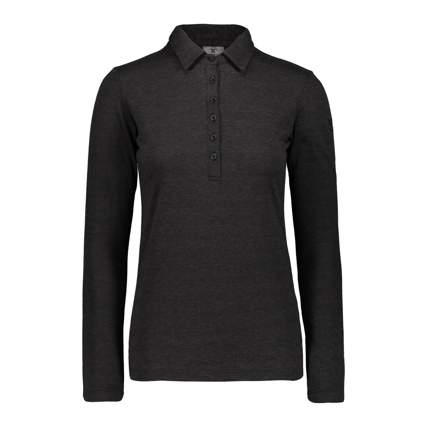 CMP Funktionsoberteil Shirt WOMAN POLO black atmungsaktiv wärmend