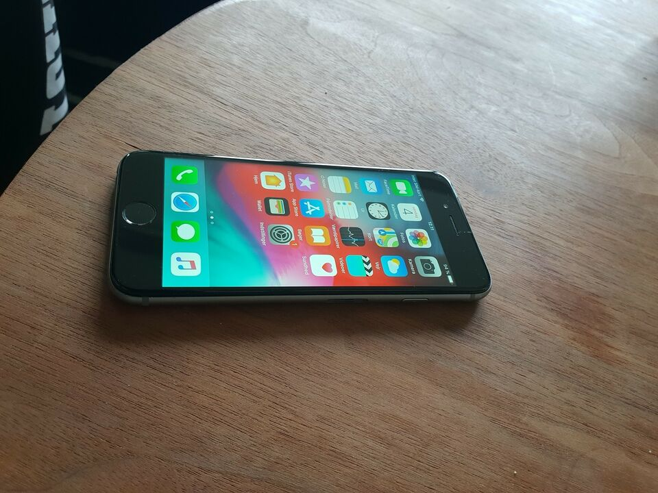 iPhone 6, 64 GB, grå