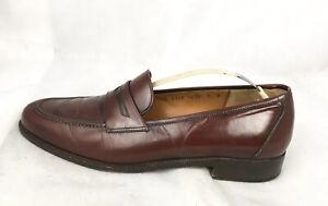burgundy ferragamo loafers