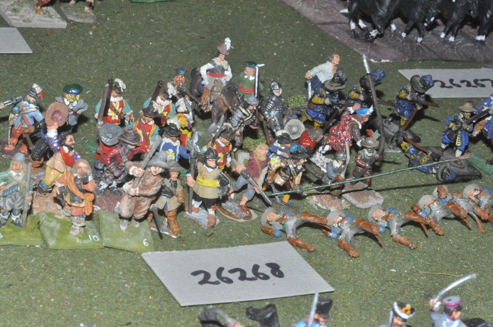 25mm ECW   royalist - mixed (as photo) - inf (26268)