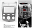 Car Dash kit for Kia Cerato Forte 2009-2012 fascia radio stereo facia kit panel