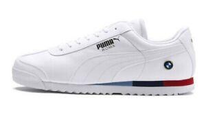 Details about Puma BMW MMS Roma # 306195 04 White Men SZ 10.5, 11