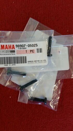 Tornillos De Unión Radiador Yamaha RD250//350LC Nueva.B49G Genuine Yamaha. 4